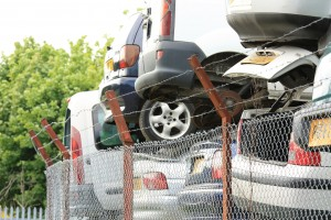 Car scrap yard